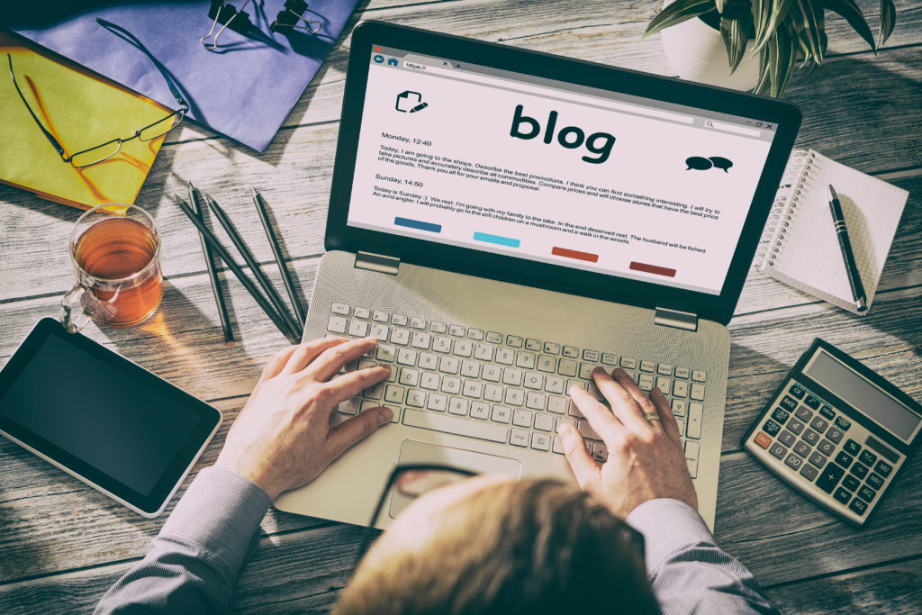 Blogging can help you to digitally transform your business