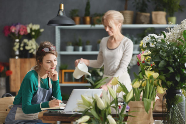 Scaling up a floristry business has its challenges